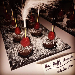 Mini fluffy chocolate
