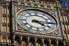 London tour of Big Ben