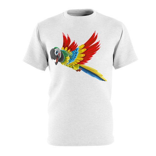Excited Parrot (white)