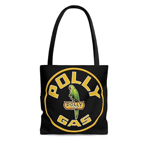 Polly Gas black tote bag