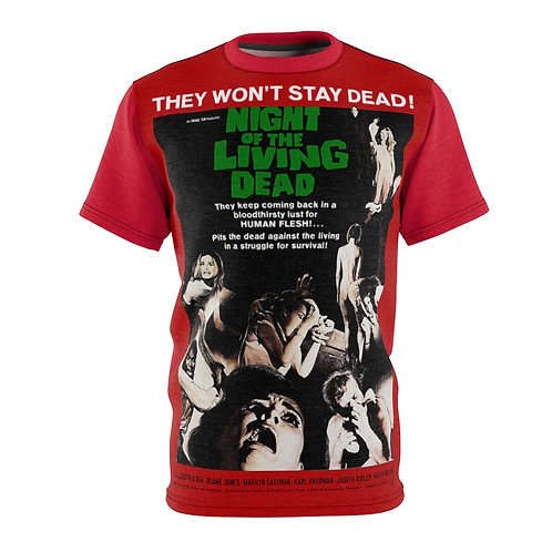 VMP Night of The Living Dead (red) - AOP Cut & Sew Tee