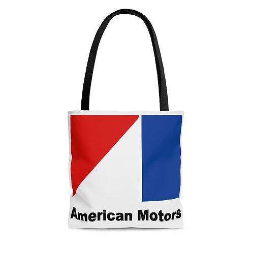American Motors white tote bag