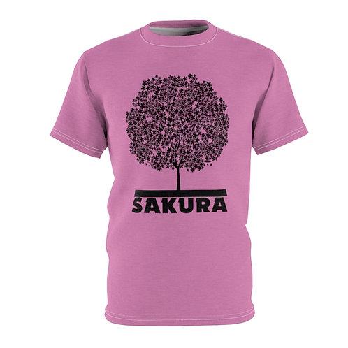 Sakura (pink) - AOP Cut & Sew Tee