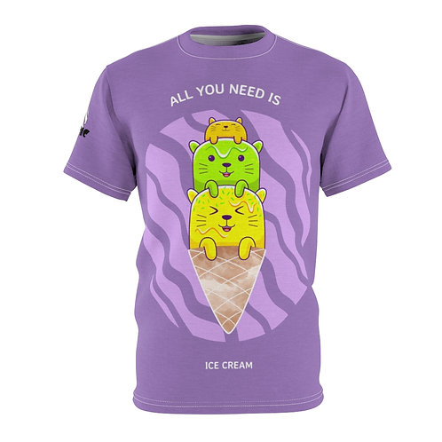 Catastic: All You Need - AOP Cut & Sew Tee