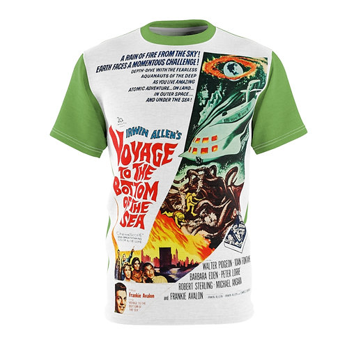 VMP Voyage To The Bottom of The Sea (sea green) - AOP Cut & Sew Tee