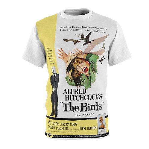 VMP The Birds (white) - AOP Cut & Sew Tee