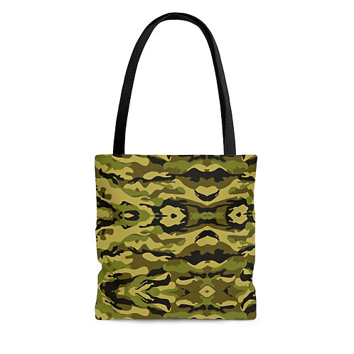Forest Camo Green Tote