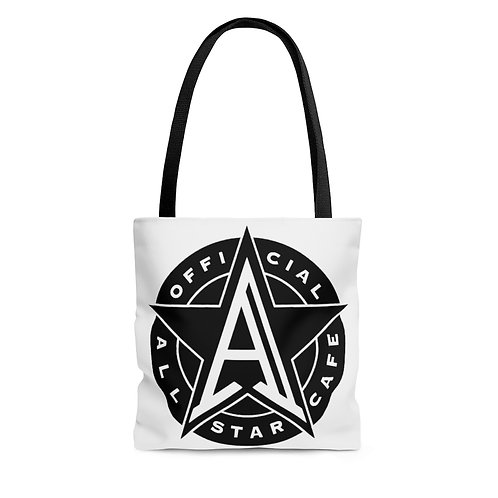 All Star Cafe white tote bag