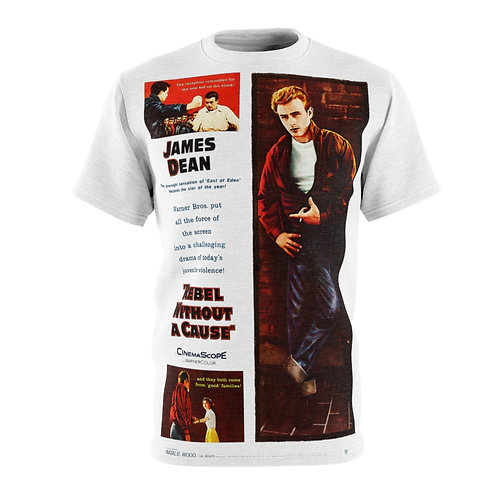 VMP Rebel Without A Cause (white) - AOP Cut & Sew Tee