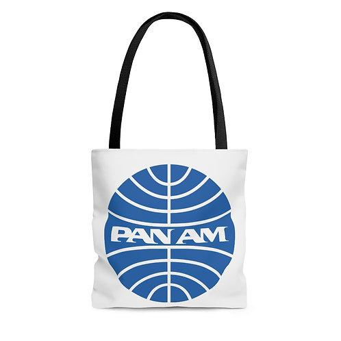 PanAm white tote bag
