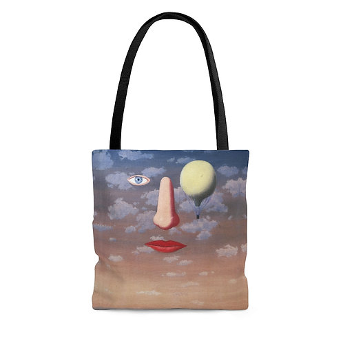 Rene Magritte's The Beautiful Relations black tote