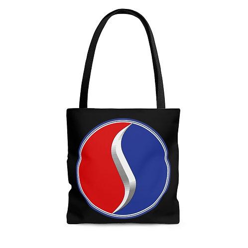 Studebaker black tote bag
