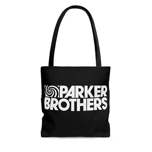 Parker Brothers black tote bag