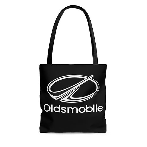 Oldsmobile 80s black tote bag