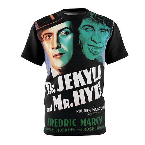VMP Dr. Jekyll and Mr. Hyde - AOP Cut & Sew Tee