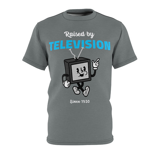 Raised By Television - AOP Cut & Sew Tee