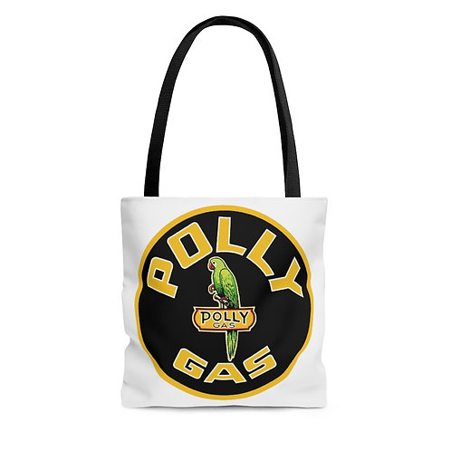 Polly Gas white tote bag