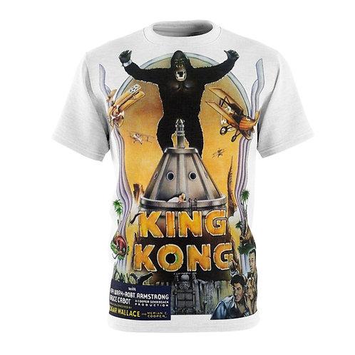 VMP King Kong (white) - AOP Cut & Sew Tee