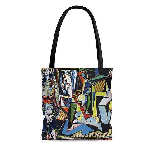 """Pablo Picasso's Les femmes d'Alger (Version """"O"""") black tote"""