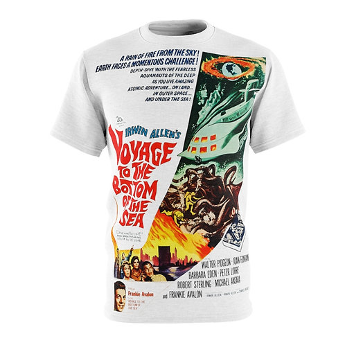 VMP Voyage To The Bottom of The Sea (white) - AOP Cut & Sew Tee