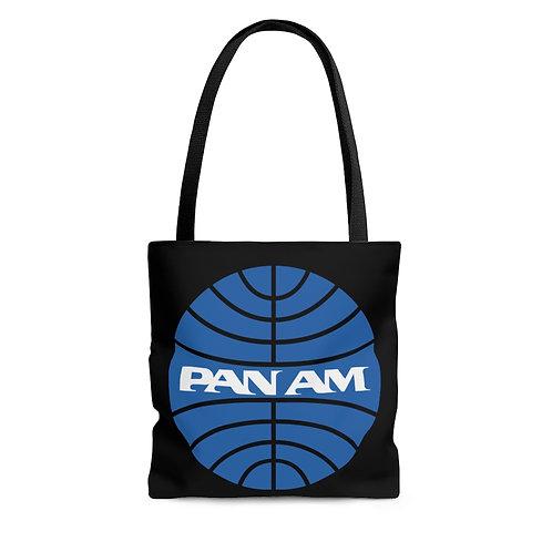 PanAm black tote bag
