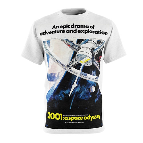 VMP 2001:a space odyssey (white) - AOP Cut & Sew Tee