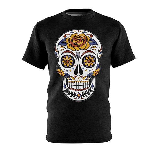 Festive Skull - AOP Cut & Sew Tee