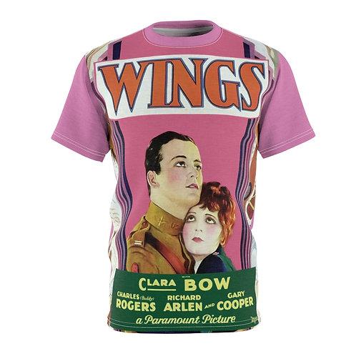 VMP Wings (pink) - AOP Cut & Sew Tee