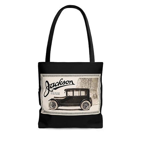 Jackson Automotive black tote bag