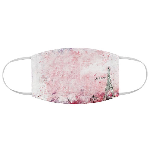 Paris In Pink Face Mask