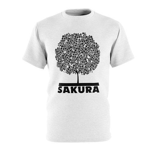 Sakura (white) - AOP Cut & Sew Tee