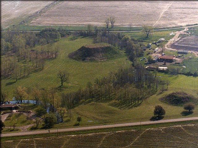 Winterville Mounds Aerial View