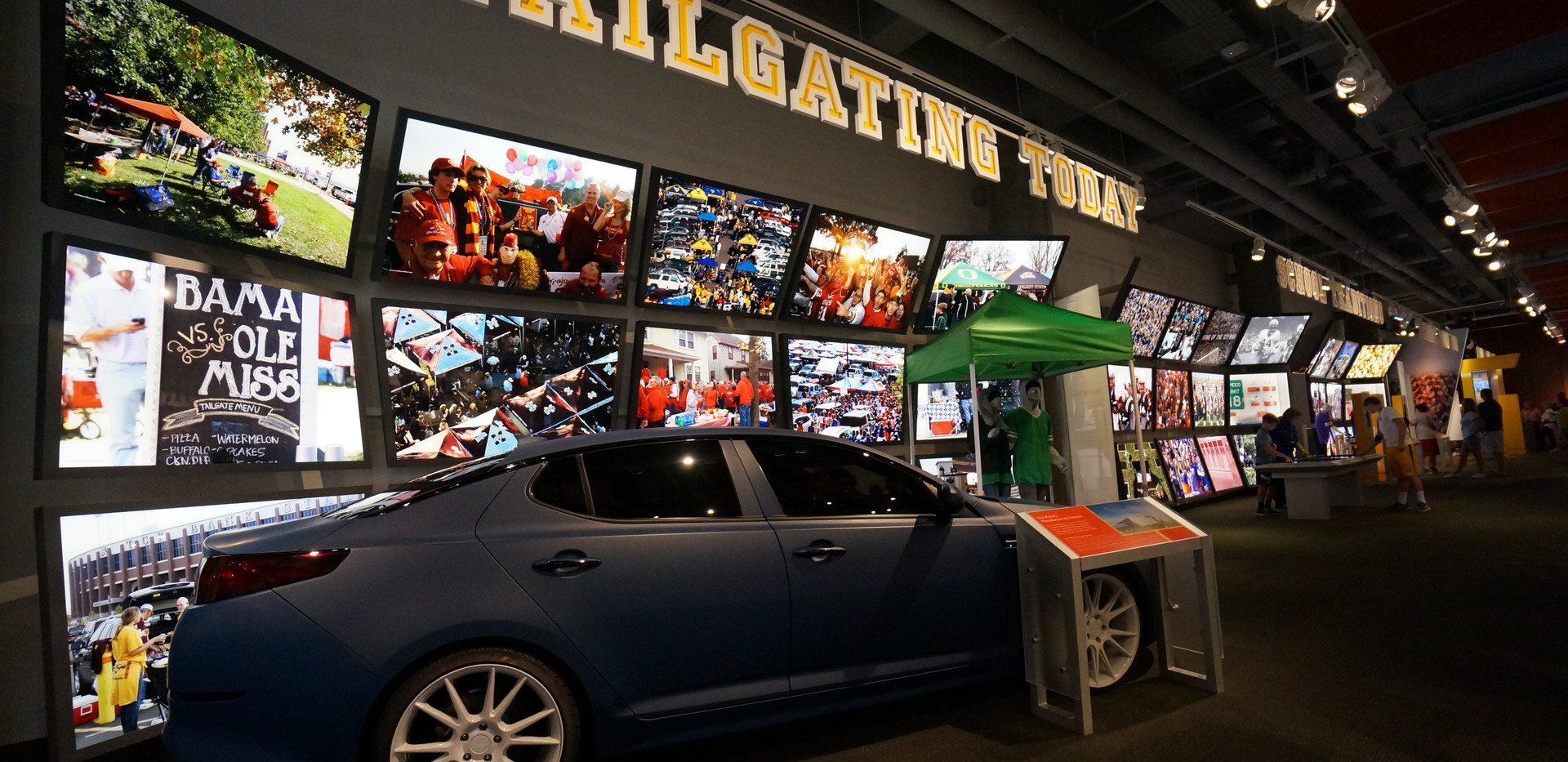 College Football Hall of Fame Tailgating Today