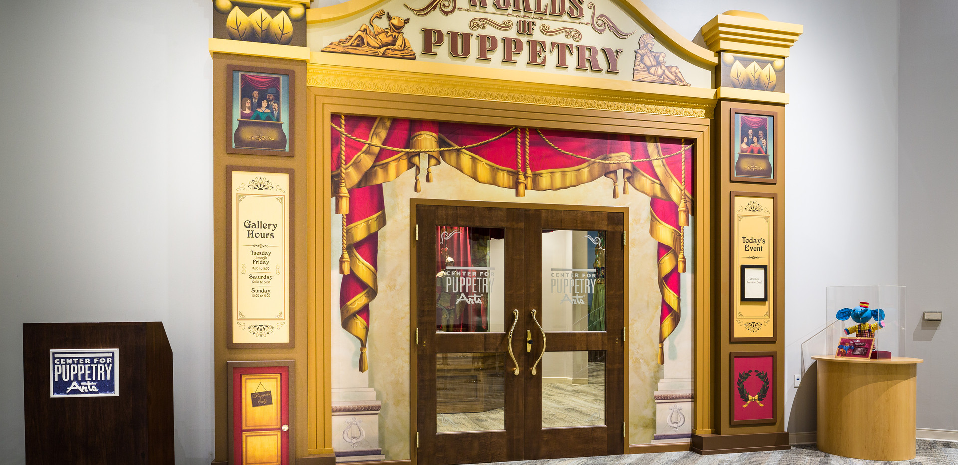 Center for Puppetry Arts Entrance