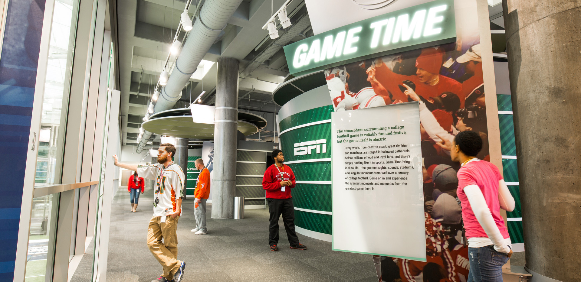 College Football Hall of Fame AT&T Game Time
