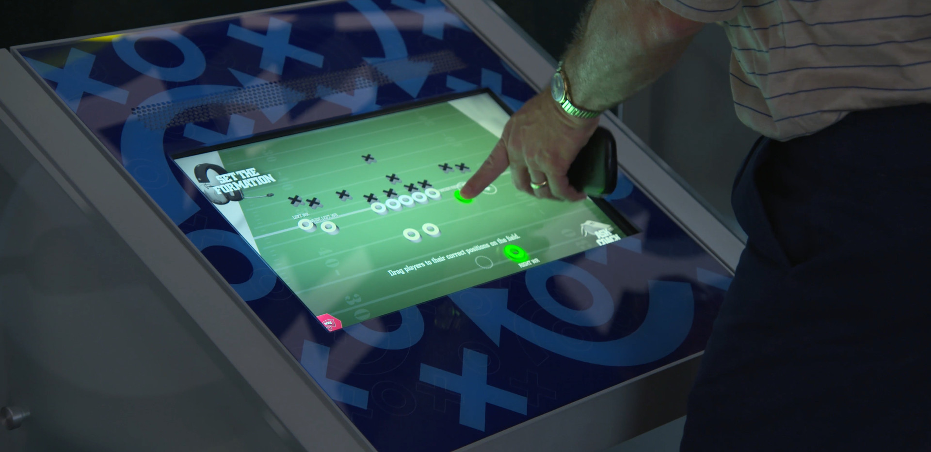 College Football Hall of Fame Set The Formation