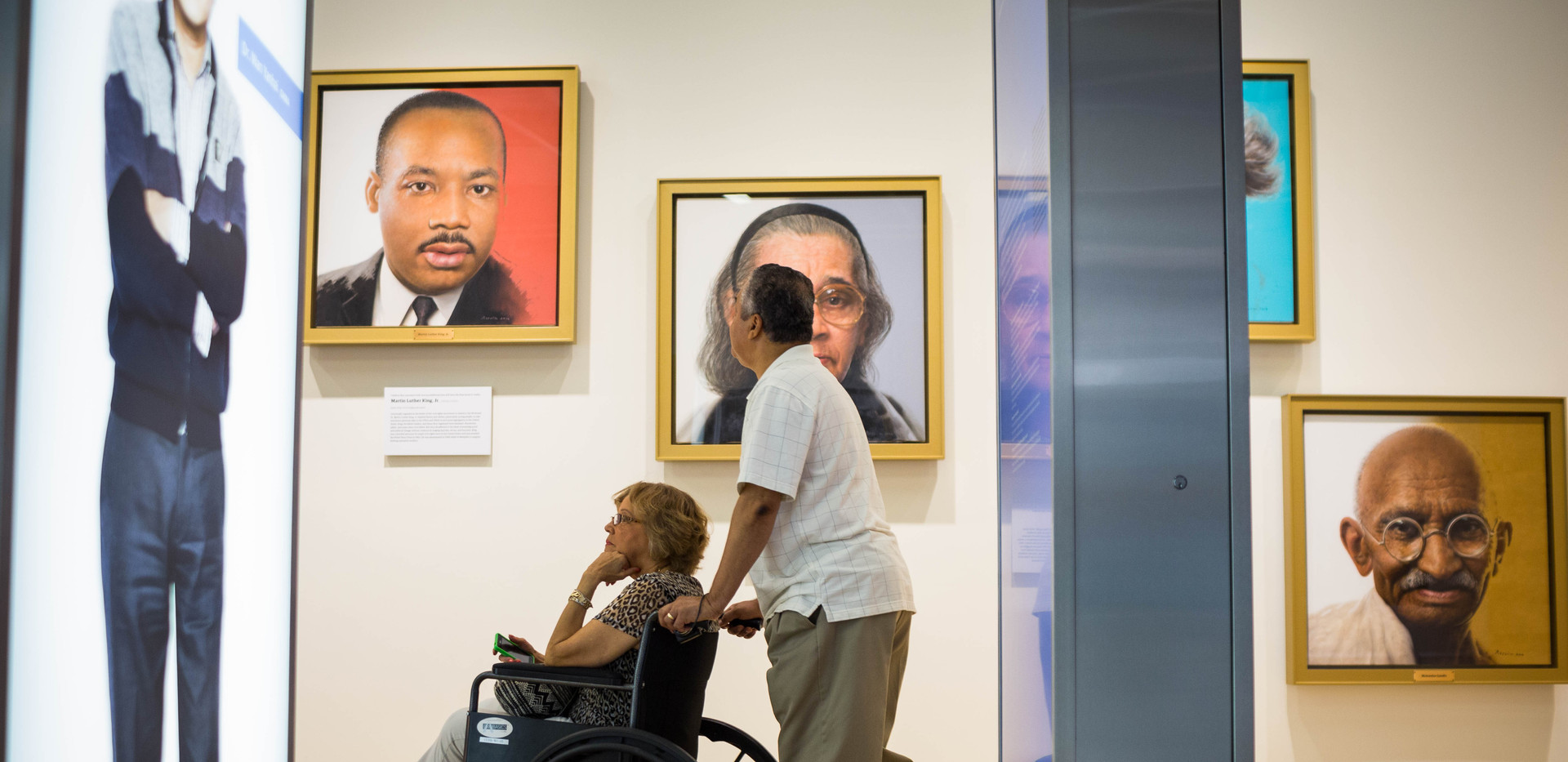 National Center for Civil & Human Rights HR Gallery Portrait Wall