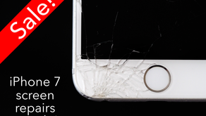 Iphone 7 Screen Repair now on sale!