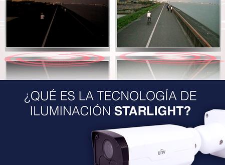 ¿Qué es la tecnología de iluminación Starlight?