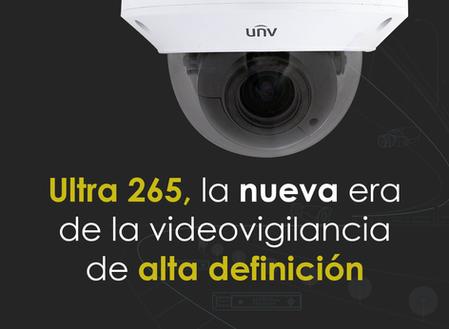 Ultra 265, la nueva era de la videovigilancia de alta definición