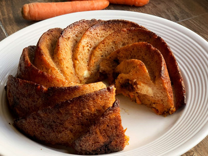 The Best Stuffed Carrot Cake (Keto & Gluten Free)