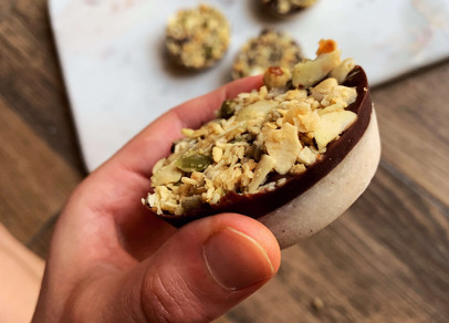 Cookie Dough Peanut Butter Cups (Keto, Egg Free)