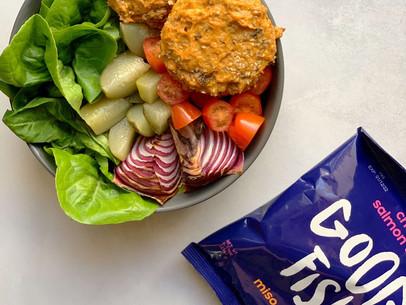 Miso Teriyaki Salmon Burgers (Keto & Gluten Free)