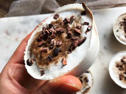 Coconut Swirly Chocolate Cups (Vegan, Keto)