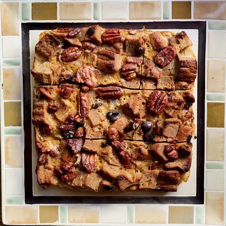 Mocha Pecan French Toast Casserole (Keto & Paleo)