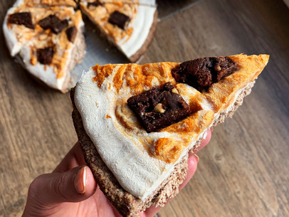 Cheesecake Pumpkin Cookie Skillet (Keto, Gluten Free & Egg Free)