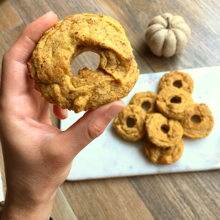 Low Carb Pumpkin Spice Donuts (Paleo)