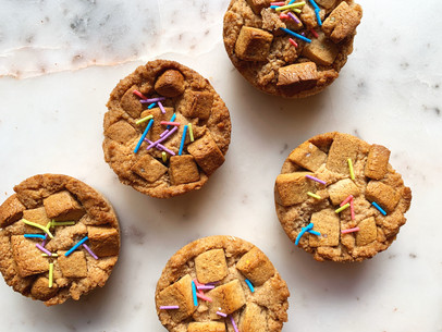 Birthday Cookie Cups (Paleo & Low Carb)