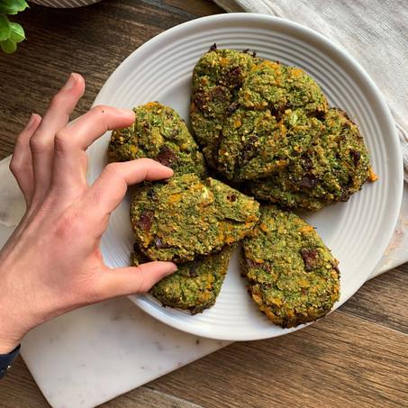 Broccoli Cheddar Biltong Scones (Keto)