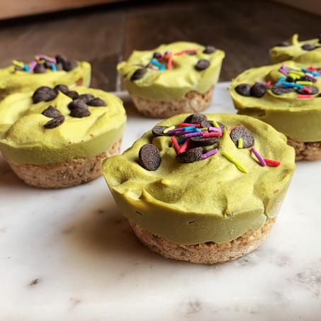 Vanilla Chip Avocado Pies (Keto, Vegan, Gluten Free)